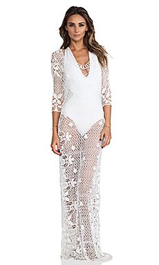 Lisa Maree Fluid Composure Dress in Creme Fraiche