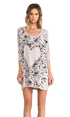 Lauren Moshi Milly Bird Heart Dress in Mouse
