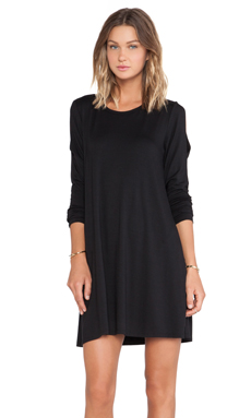 LNA Lucia Dress in Black