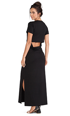 LNA Whiteley Dress in Black