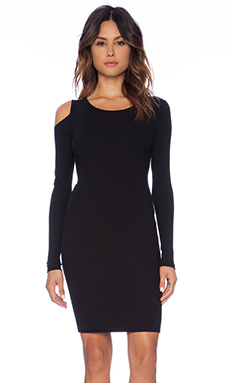 LNA Jasmine Dress in Black