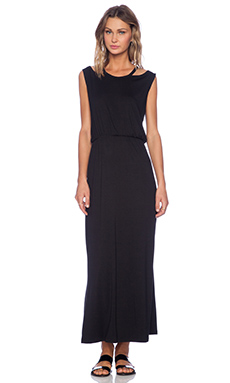 LNA Sierra Dress in Black