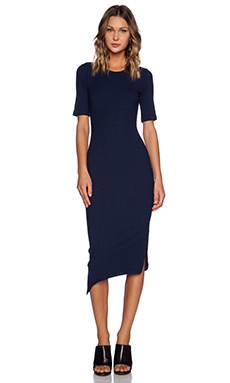 LNA Nola Dress in Navy Dusk