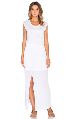 LNA Florence Dress in White