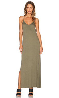LNA Amalfi Dress in Army Green