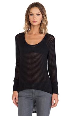 LNA Ryan Sweater in Black