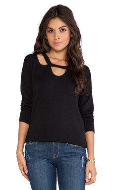 LNA Clover Sweater in Black