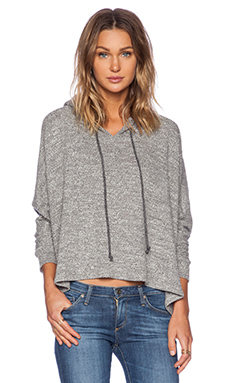 LNA Corona Hoodie in Heather Grey