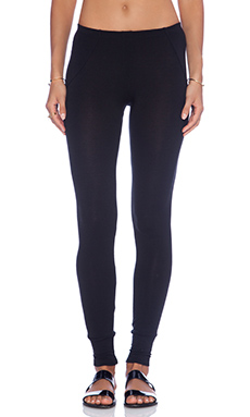 LNA French Terry Legging in Black