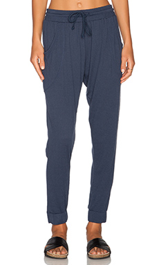 LNA Gypsy Pant in Indigo