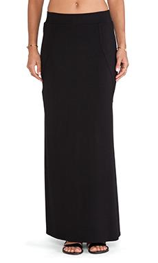 LNA Danica Column Skirt in Black