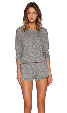 LNA Guadalupe Romper in Heather Grey