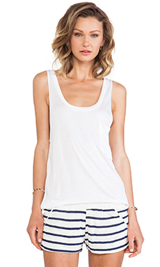 LNA Pocket Tank in White