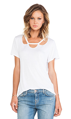 LNA Dillion Tee in White