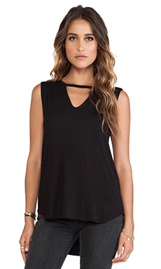 LNA Roaslie Top in Black