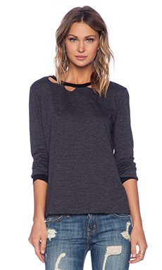 LNA Evan Long Sleeve in Stormy