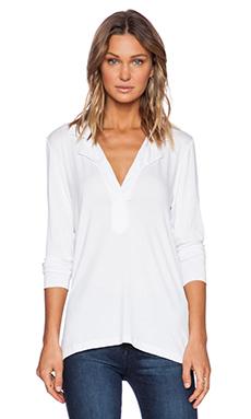 LNA Elin Blouse in White