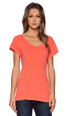 LNA Coast Tee in Spring Coral