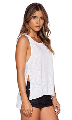 LNA High Slit Tank in White