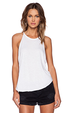 LNA Bib Tank in White