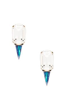 Lionette by Noa Sade Gali Earrings in Clear/Blue