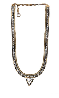 Lionette by Noa Sade Giza Necklace in Brass