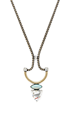 Lionette by Noa Sade Koti Necklace in Baby Green