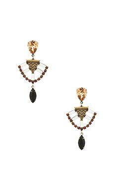 Lionette by Noa Sade Mercer Earrings in Black