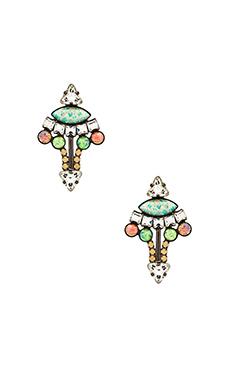 Lionette by Noa Sade Mali Earrings in Rainbow
