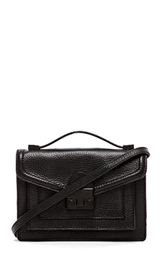 Loeffler Randall Mini Rider Crossbody Bag in Black