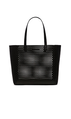 Loeffler Randall Open Tote in Black
