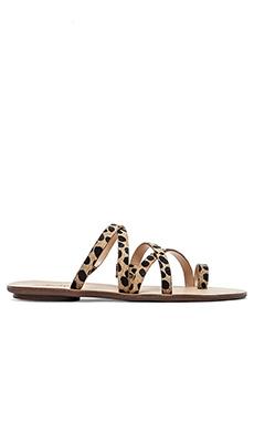 Loeffler Randall Sarie Sandal in Cheetah