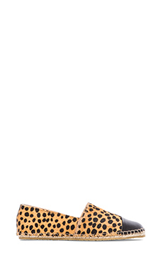 Loeffler Randall Mara Calf Hair Flat in Cheetah