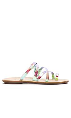 Loeffler Randall Sarie Sandal in Pearl