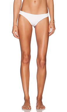lolli swim Yummies Bikini Bottom in Dot White