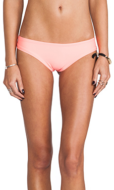 lolli swim Pick Me Bottoms in Coral & Tropic Pink Bow