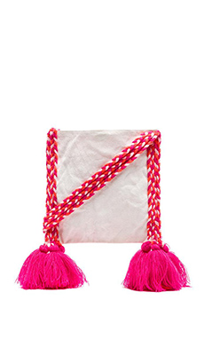lolli swim Ivan Crossbody Bag in Strawberry Fresca