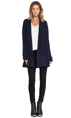 LOMA Kristen Sweater Coat in Dark Navy