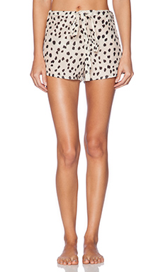 Lonely Drawstring Short in Nude Spot