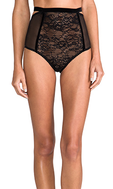 Lonely Sabel High Waisted Brief in Black