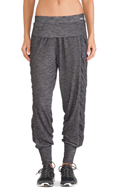 Lorna Jane Harriet Active Harem Pant in Char Marl