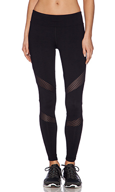 Lorna Jane Pia Core Stability Full Length Legging in Black