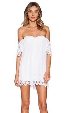 Lost in Alila Laylah Dress in White