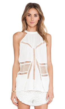 Le Salty Label Rise & Shine Tunic in White