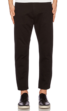 lot78 Slouch Pant in Black