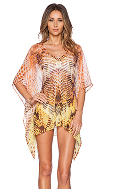 Lotta Stensson Viper Poncho Top in Golden