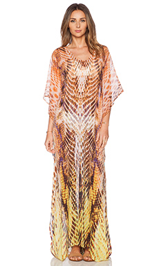 Lotta Stensson Viper Maxi Caftan in Golden