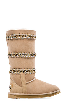 Australia Luxe Collective Ulysses with Sheep Shearling in Sand