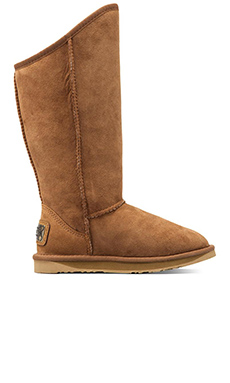 Australia Luxe Collective Cosy Tall Boot  with Sheep Shearling in Chestnut