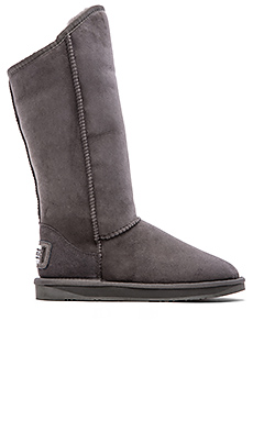 Australia Luxe Collective Cosy Tall Boot with Sheep Shearling in Gray